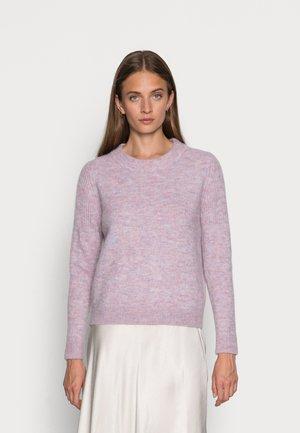 SLFSIA O NECK  - Jumper - chalk pink