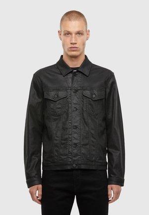 NHILL TW - Veste en jean - black
