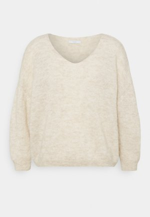 LIV PULLOVER - Pullover - sand