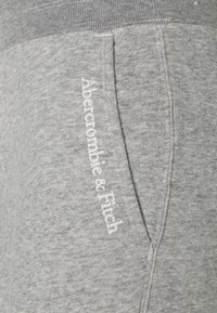 Abercrombie & Fitch - EMBROIDERED LOGO - Tracksuit bottoms - grey - 2