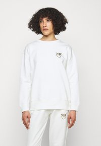 Pinko - SANO MAGLIA - Sweatshirt - off white - 0