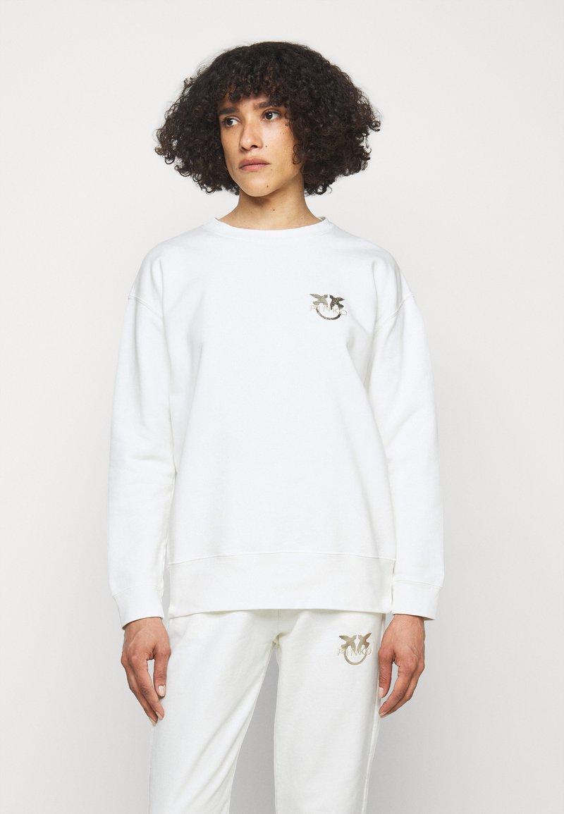 Pinko - SANO MAGLIA - Sweatshirt - off white