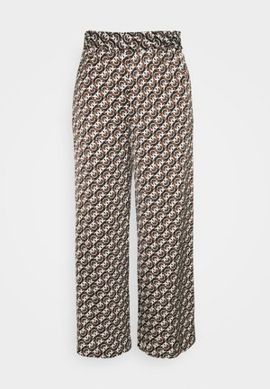 GRUS - Trousers - black