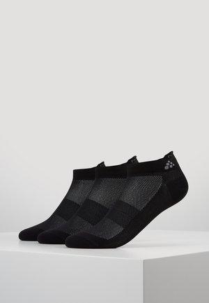 GREATNESS SHAFTLESS 3 PACK - Sportovní ponožky - black