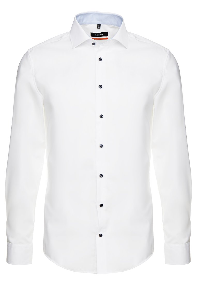 Uomo SLIM SPREAD PATCH - Camicia elegante