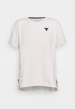 PROJECT ROCK - Print T-shirt - summit white