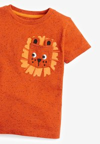 Next - Print T-shirt - orange - 2