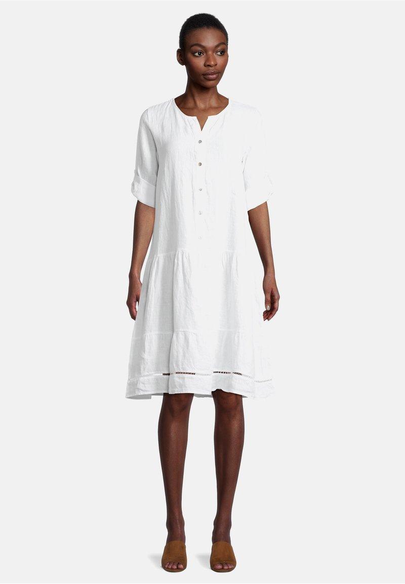Cartoon - Shirt dress - weiß