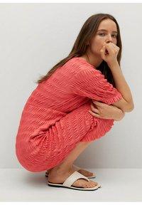 Mango - SPRING-H - Day dress - pink - 3