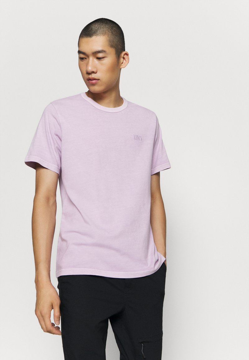 Levi's® - AUTHENTIC CREWNECK TEE - Basic T-shirt - lavender frost