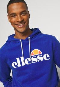 Ellesse - GOTTERO - Bluza z kapturem - blue - 3