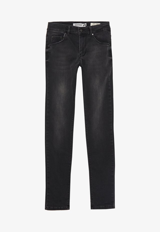 BOWIE - Džíny Slim Fit - medium black wash