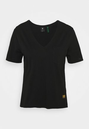 CORE OVVELA - T-shirt imprimé - black