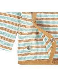 Noppies - OVERLAP PLUM BABY ZGREEN - Long sleeved top - brown - 2
