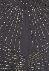 Lace & Beads Tall - AVERY HIGH LOW DRESS - Společenské šaty - charcoal - 6