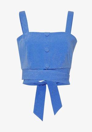 RENEE TOP - Débardeur - blue