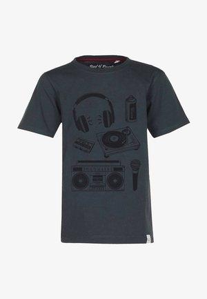 T-shirt med print - dark-grey