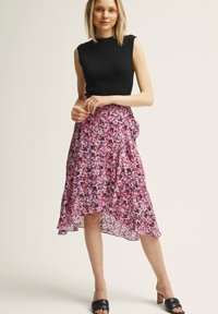 STOCKH LM - A-line skirt - printed - 1