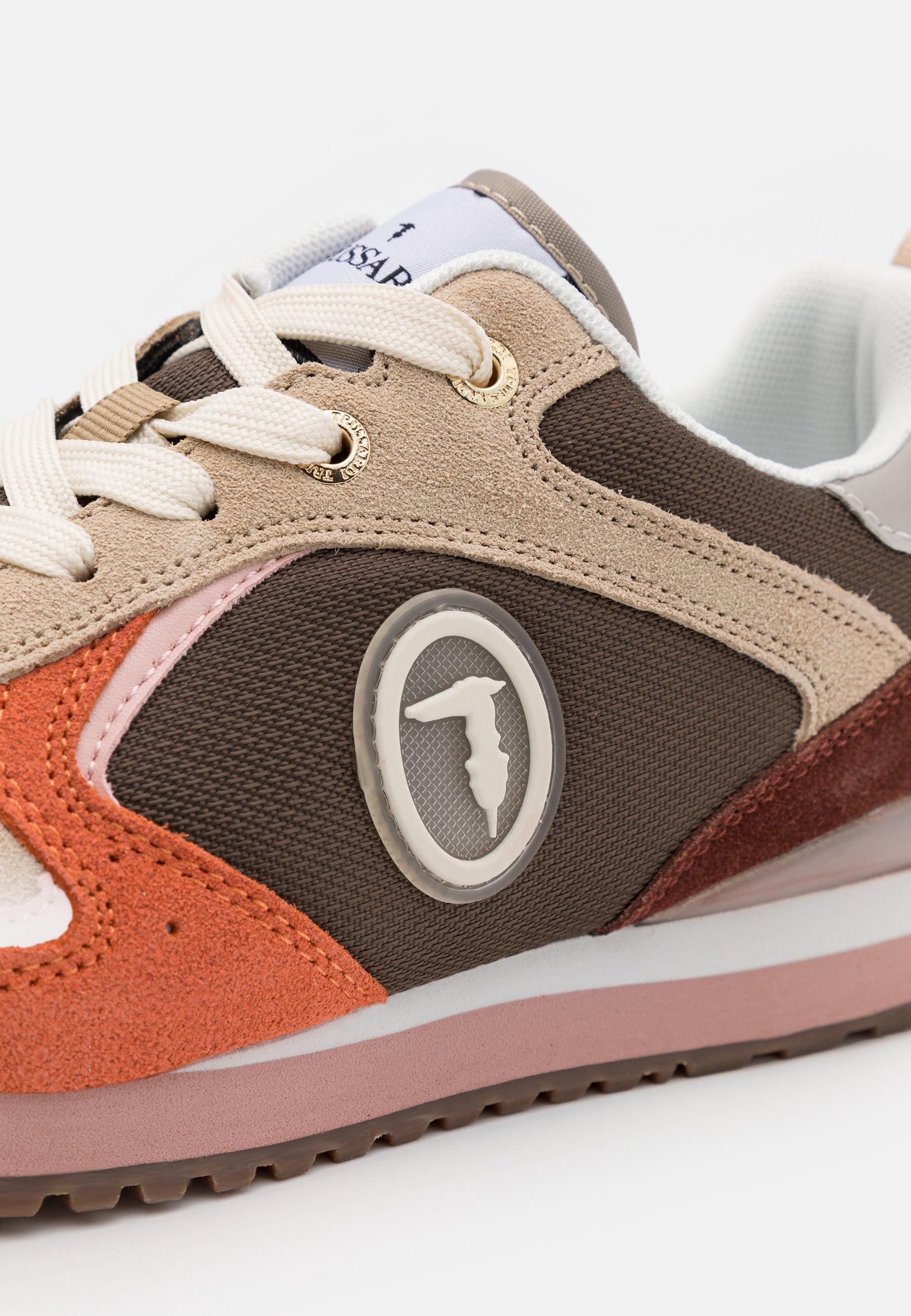 Gorąca wyprzedaż Zniżka Trussardi KIWI  - Sneakersy niskie - rope/pink | Obuwie damskie 2020 fobyn