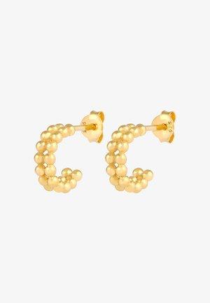 HOOPS MINIMAL - Earrings - gold