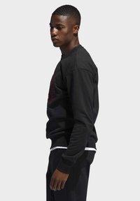 adidas Performance - HARDEN FLEECE CREW SWEATSHIRT - Sweater - black - 2