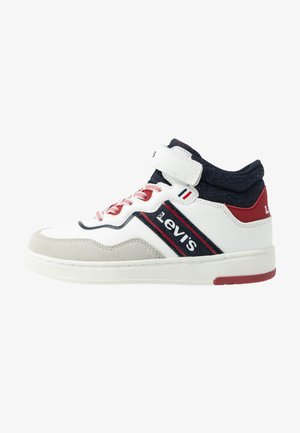 IRVING MID - High-top trainers - white/navy