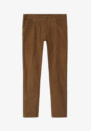 BARDEM - Trousers - tobacco-braun