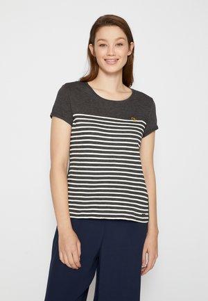 T-shirt imprimé - shale grey melange