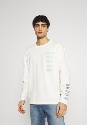 LONG SLEEVE WITH PRINT - Maglietta a manica lunga -  white