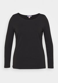 Anna Field Curvy - Long sleeved top - black - 4