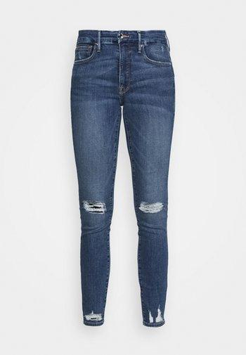 LEGS CHEW AND POCKETS - Skinny džíny - blue