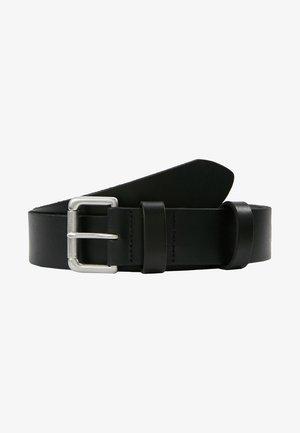 ROLLER BUCKLE BELT - Belt business - black