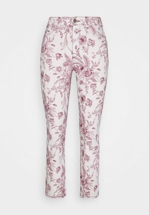 MARA ANKLE: HIGH RISE - Jeans Skinny Fit - botanical