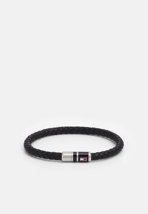BRUSHED BEADED BRACELET - Bracciale - black