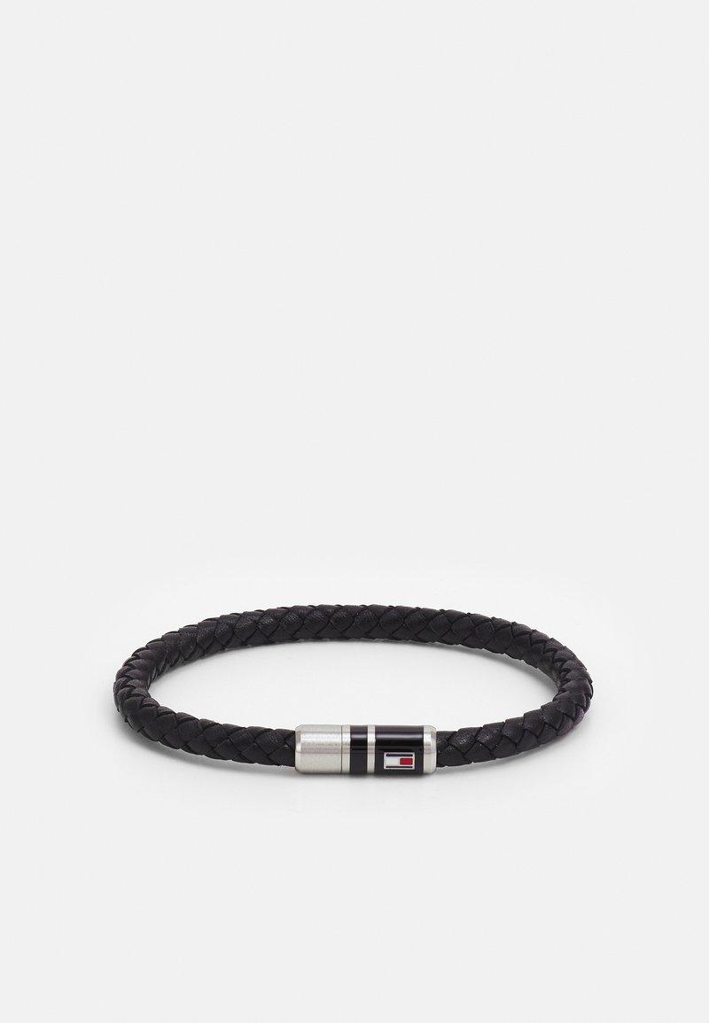 Tommy Hilfiger - BRUSHED BEADED BRACELET - Bracelet - black