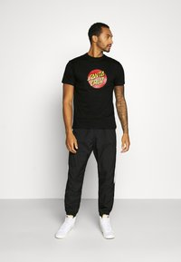 Santa Cruz - UNISEX CLASSIC DOT  - Print T-shirt - black - 1