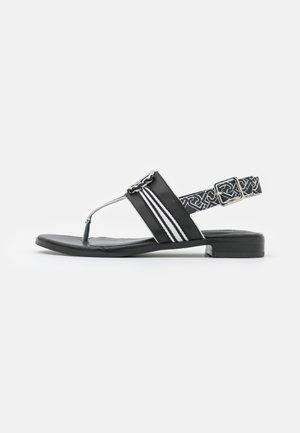 ERIN  - T-bar sandals - black