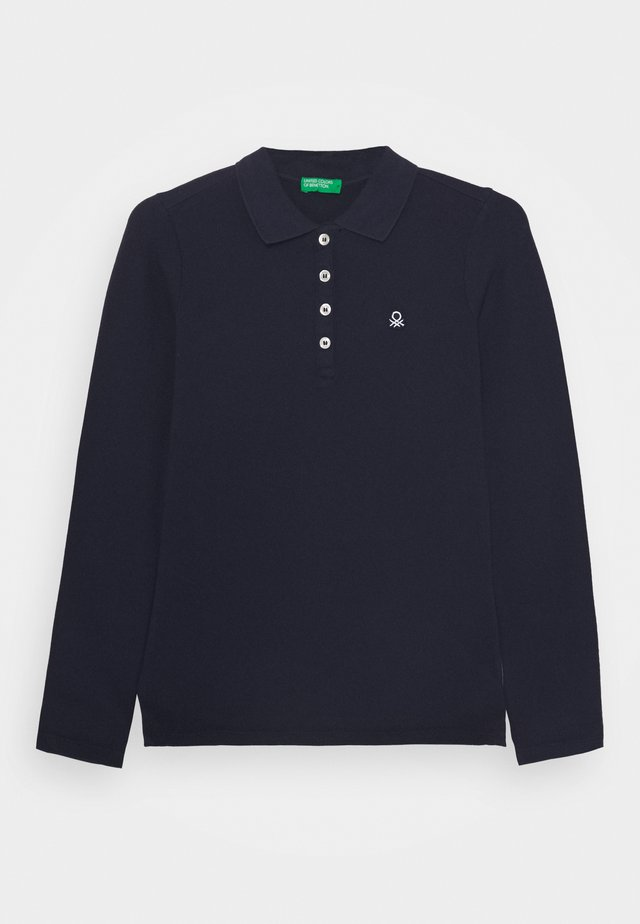 BASIC GIRL - Polo shirt - dark blue