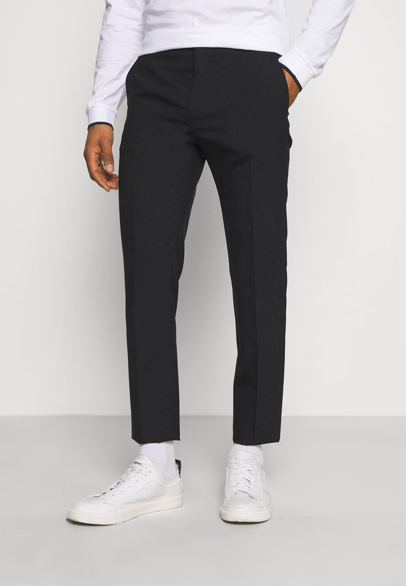 Calvin Klein Tailored - STRETCH PANT - Bukser - perfect black