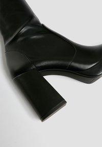PULL&BEAR - High heeled boots - black - 4
