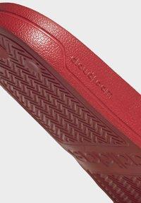 adidas Performance - SHOWER ADILETTE - Chanclas de baño - red - 8