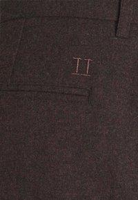 Les Deux - COMO SUIT PANTS - Trousers - burgundy - 5