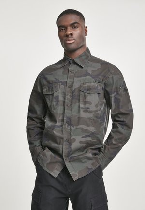 SLIM FIT - Shirt - olive