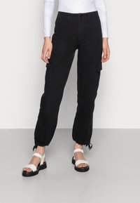 BDG Urban Outfitters - AUTHENTIC CARGO PANT - Cargo trousers - black - 0
