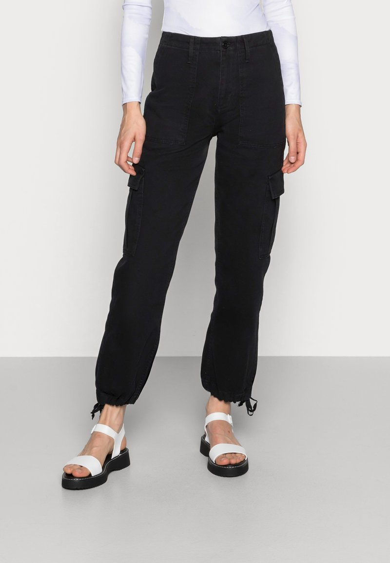 BDG Urban Outfitters - AUTHENTIC CARGO PANT - Cargo trousers - black