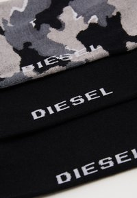 Diesel - SKM-RAY 3 PACK - Socks - black/grey - 1