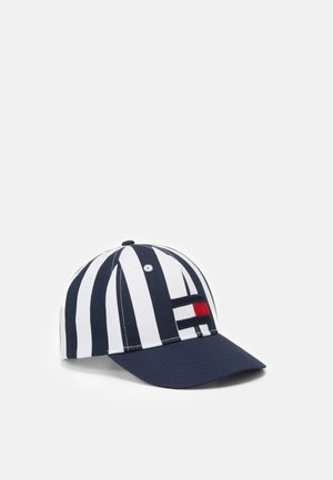 BIG FLAG STRIPES UNISEX - Kšiltovka - twilight navy