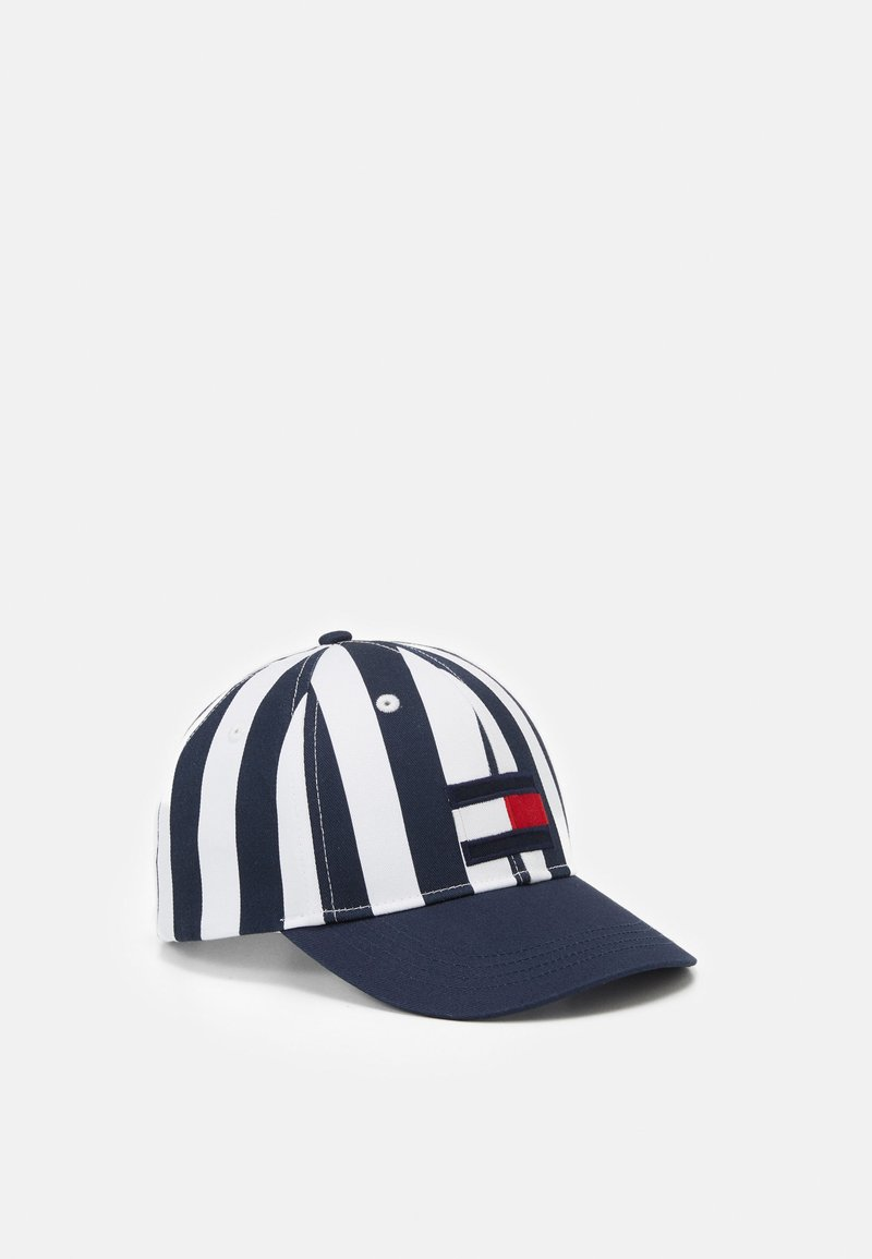 Tommy Hilfiger - BIG FLAG STRIPES UNISEX - Kšiltovka - twilight navy
