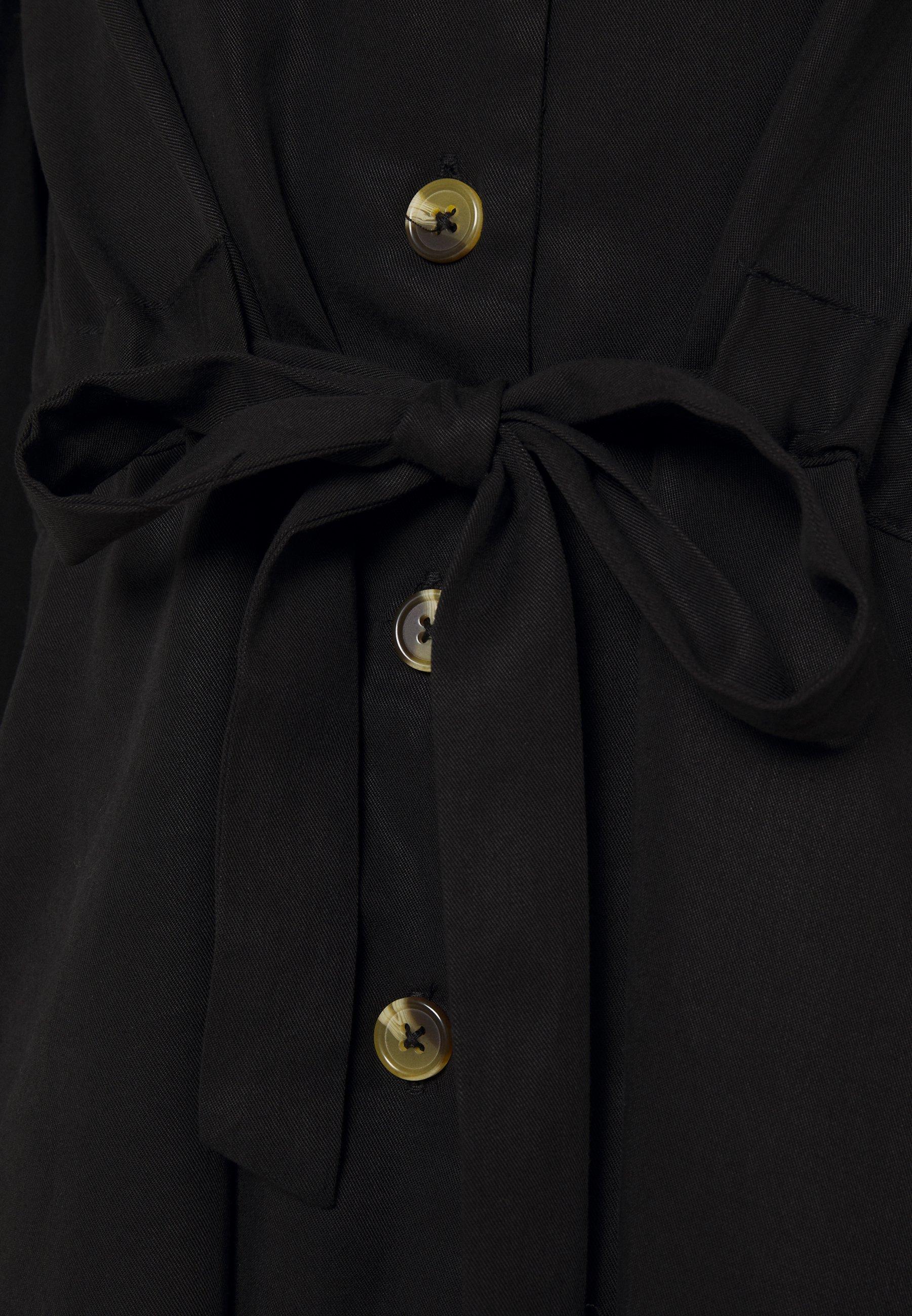 Mujer OBJTILDA BUTTON DRESS - Vestido informal