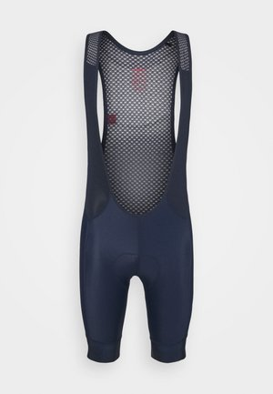ENDUR BIB SHORTS  - Leggings - blaze/bright red